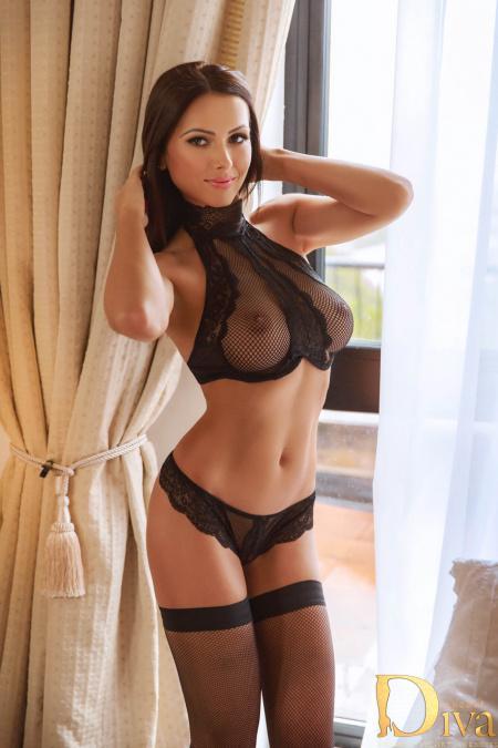 Jasmine Brunette from Diva Escort Agency